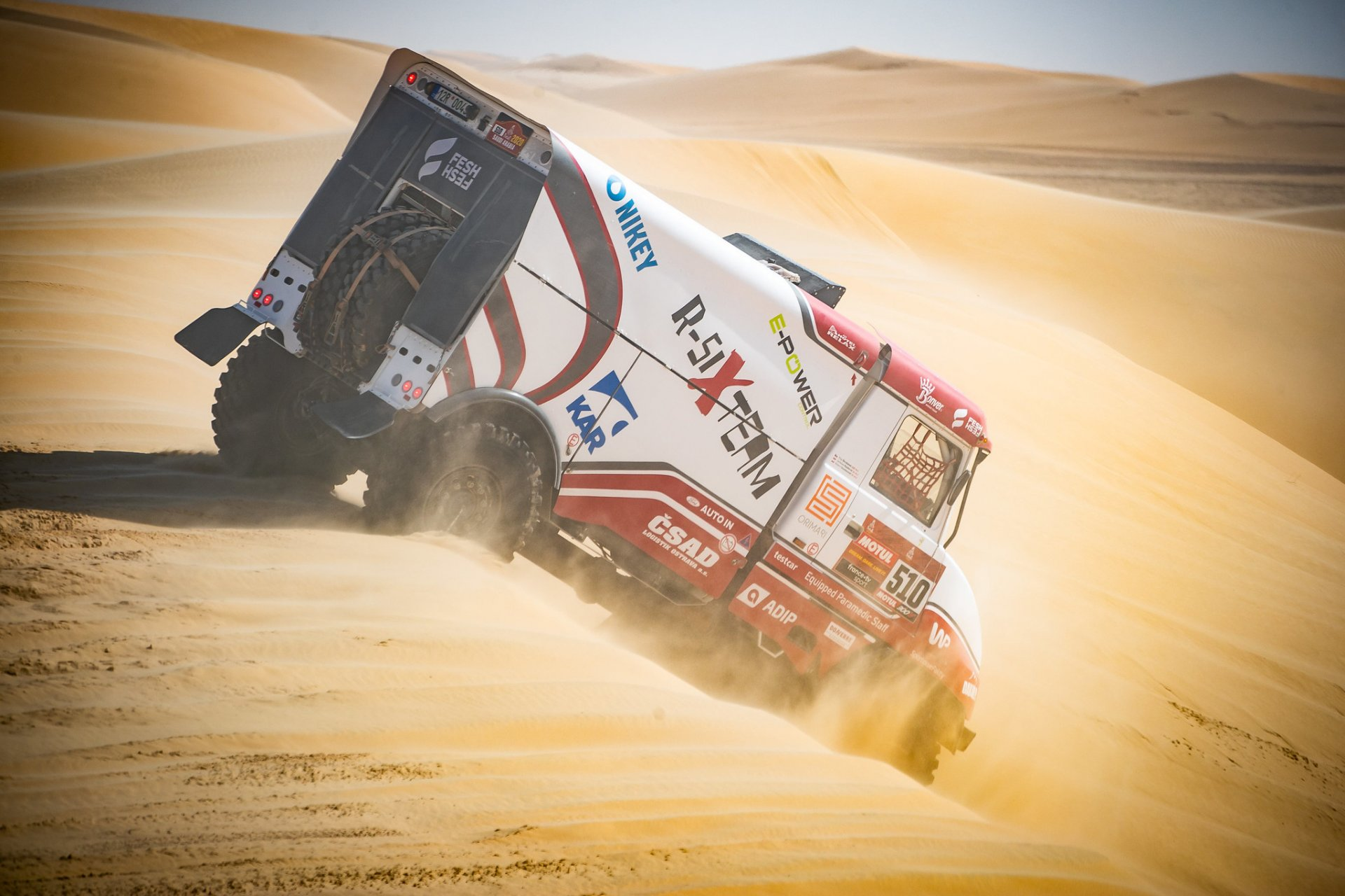 Fesh Fesh Group - nejúspěšnější tatra na Rallye DAKAR 2020!